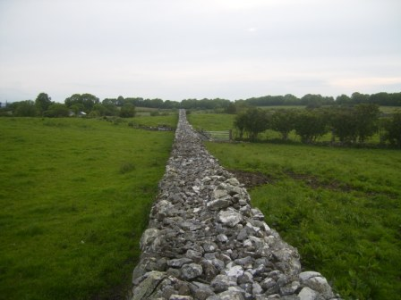 190 - Wall near Oldcastle - Famine relief