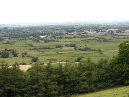 519 - View from Sliabh na Callaigh into Oldcastle